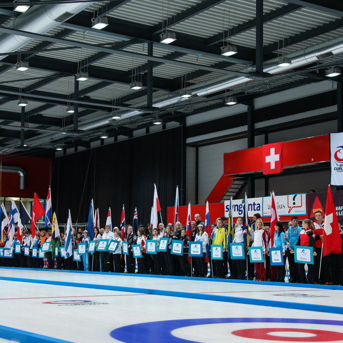 World Mixed Curling Championship 2017, Champery, Switzerland